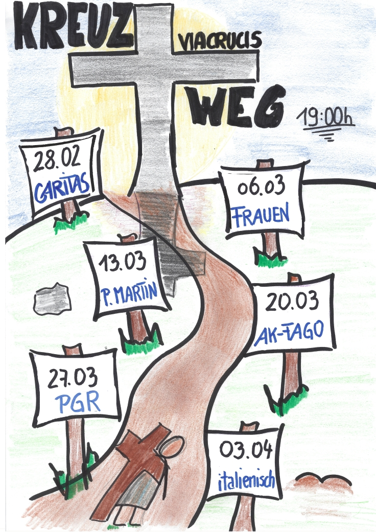 Kreuzweg Flyer 2020