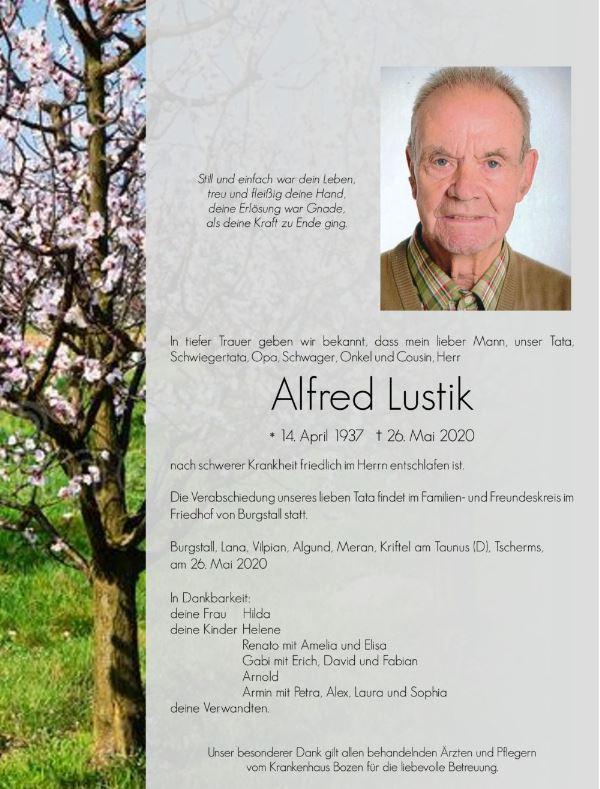 Lustik Alfred