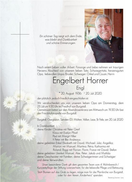 Horrer Engelbert
